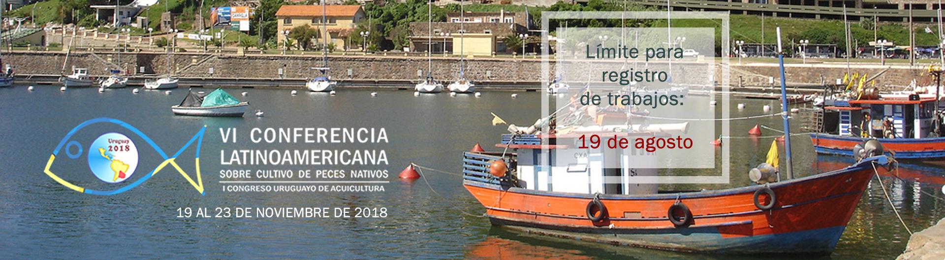VI Conferencia Latinoamericana Cultivo de peces nativos