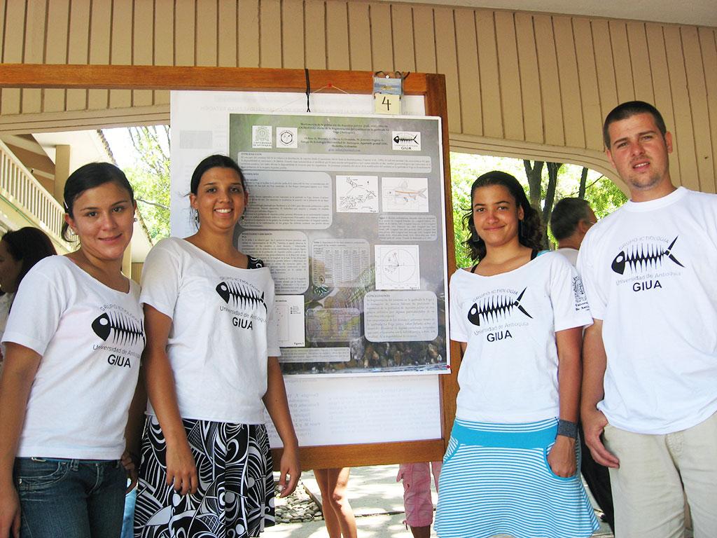 Acictios imágenes Congreso Colombiano de Ictiología 2007