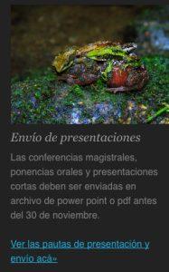 V Congreso Colombiano de Zoología - Envío Presentaciones